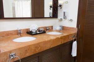 Sandos Caracol Eco Standard Double Bathroom