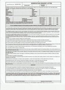 Sandos Booking Form July 2021